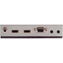Apantac HDBT-1-Ex HDMI Extender with RS232; IR; Ethernet Hub & POE over CAT 5e/6