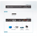 ATEN VC880 HD Video Repeater Plus Audio De-embedder