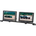 Single or Dual Rack Mount for Any 1/4-20 Thread Mounted Monitor