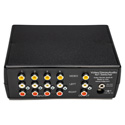 Inday AV4X-R 4x1 Stereo Audio & Composite Video Switcher With IR Remote