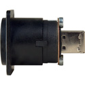 AVP USB-AB Type A Front Type B On Rear F to F Adaptor Plate Hardware