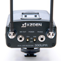 Azden 330LH Lavalier & Handheld Camera Mount Dual Wireless Microphone System