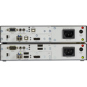 Black Box AMS9205A KVM Extender - DisplayPort 1.2 4K60 USB HID USB 2.0 Serial Audio Single-Mode Fiber