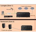 TOA BG-2120 Mixer/Amplifier 120 Watt Mic/Tel/Aux/PGM Inputs