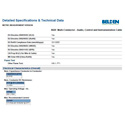 Belden 8620 16 AWG 4 Conductor Audio/ Control and Instrumentation Cable - Chrome - 100 Foot