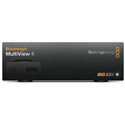 Blackmagic MultiView 4 Video Multiviewer for 4 Channels of SDI