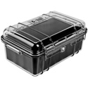 Pelican 1050 Micro Case - Clear Case/Black Liner