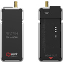 E2WORK 3GCSH 3G Nano Size SDI to HDMI Converter with Scaling Function
