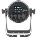 Elation Professional ARE725 Arena Zoom Q7IP IP65 Outdoor Rated Par Can with 7x 30 Watt Osram Quad-Color RGBW LEDs