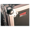 Gator GR-MEDIA12U-GRY 12RU ATA Wood Flight Pop-Up Console Rack Case