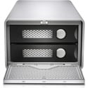 G-Tech 0G05012 G-RAID Removable Dual-Drive Thunderbolt 2 with Single USB 3.0 2-Bay Storage 7200RPM HDD - 20TB - Silver