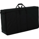 Gator G-LCDTOTE-LGX2 Padded Nylon Carry Tote Bag for Transporting (2) LCD Screens Between 40 Inches - 45 Inches