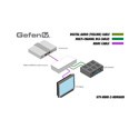 Gefen GTV-HDMI-2-HDMIAUD Switchable Audio Break-out Box