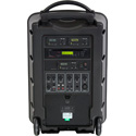 Galaxy Traveler 10 PA System w/ CD-USB-MP3-SD Player 2 Receivers 2 Handheld Mics