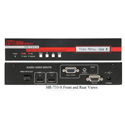 Hall Research HR-733 HDMI/DVI / VGA / Audio /RS-232 Over Fiber Extender Switcher