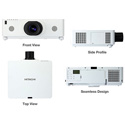 Hitachi CP-WU8700W-ML713 WUXGA 7000 Lumen Projector with standard (ML713) lens