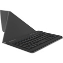 Kanex K166-1054 iPad Mini Keyboard with Stand Cover - Rechargeable Li-ion Battery - Black