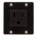 Kramer TS-W1US Dual Insert US Power Socket Module