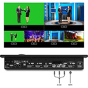 Lumantek ez-Pro VS4 4 Channel Full HD Video Switcher