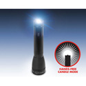 MAGLITE ML25LT-S3106 - MagLed 3C Cell LED Flashlight with Hands-Free Candle Mode Silver