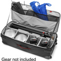 Manfrotto MB PL-LW-97W-2 Pro-Light Rolling Lighting Gear Organizer V2 (Large - Black)