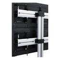 Middle Atlantic DS-600SL-AL DisplayStation Stand - 600 VESA Single Display Mount with Levelers - Aluminum