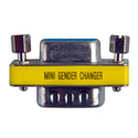 DB-9 Male to Female Compact Gender Changer