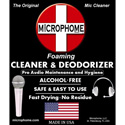 Microphome Mic Cleaning / Sanitizing / Deodorizing Foam 50 ml Bottle