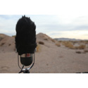 WindTech MM-1 Mic-Muff Shotgun Microphone Windshield Fitted Fur Windscreen Cover