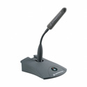MZTX31 PTT IS Series Table Stand with Push-to-talk button 3 pin XLR Connectors