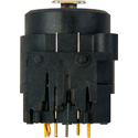 Neutrik NCJ9FI-V Combo 3-Pin XLRF/1/4in w- Switching (Normalling) PCB-V Mount