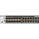 Netgear M4300-12X12F (XSM4324S) 24-Port Stackable Managed Ethernet Switch with 24x10G / 12x10GBASE-T8xSFP Plus Layer 3