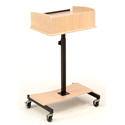 Oklahoma Sound LSS-CH Laptop Speaker Stand - Cherry