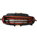 Portabrace TLQB-41XTOR Tripod/Light Carrying Case with Off Road Wheels - Black - 41 in.