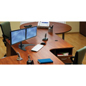 Peerless LCZ-2F430B Up to 30 Inch Dual Desktop Display Mount