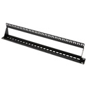Platinum Tools 641-24U 24 Port Unloaded Patch Panel - 19 Inch Unshielded - 1RU