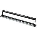 Platinum Tools 642-24SU 24 Port Unloaded Keystone Patch Panel - 19 Inch Shielded - 1RU