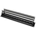 Platinum Tools 643-48U 48 Port Unloaded Keystone Patch Panel - 19 Inch Unshielded - 2RU