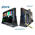 Plura SFP-217-3G 17-Inch Class A 3G 1920x1080 Broadcast Video Monitor w/SFP Port