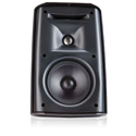 QSC AD-S52BK Black 2-Way 5.25in Outdoor Speaker w/Mount Bracket - Pair