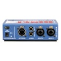 Radial Engineering DiNet DAN-TX2 Dante Network Transmitter - Stereo Line level XLR/TRS Inputs with Level Controls