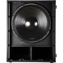 RCF SUB-8004AS Active Subwoofer with 4 Inch Voice Coil and 18 Inch Woofer