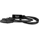 Rat Sound CAT Tails CTMX etherCON Breakout to Four Male XLR cables