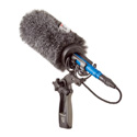 Rycote 33353 18cm Large Hole Classic-Softie Kit (24/25) with Duo-Lyre Mount & Pistol Grip Handle