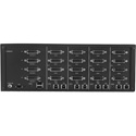 Smart-AVI SDVN-4Q-P Secure 4-Port Quad-Head DVI-I KVM Switch with Dedicated CAC Port and 4K Support