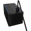 Sabrent AX-TPCS 60 Watt (12 Amp) 10 Port Desktop Smart USB Rapid Charger - Black