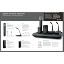 Shure MXWNCS8 8 Channel Networked Charging Station