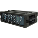 SKB 1SKB-R3S Roto Molded 3U Shallow Roto Molded Rack Case