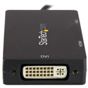 Startech CDPVGDVHDBP USB-C Multiport Adapter - 3-in-1 USB C to HDMI DVI or VGA