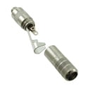 Switchcraft 35LJNS 3.5MM Stereo Cable Mount Extension Jack - Nickel Body / Silver Contacts / .175 in. Opening